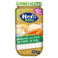 Hero Baby Potet Pastanaga amb  arròs 235g