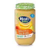 Hero Baby Potet tres fruites 235g