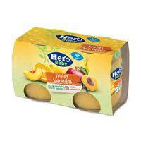 Potet fruites variades Hero Baby 130 g. x 2