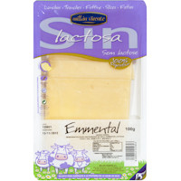 Millán Vicente Queso emmental sin lactosa 100g