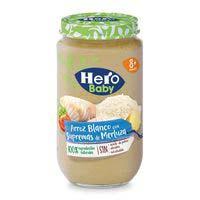 Hero Baby Merluza y arroz 250g