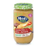 Hero Baby Pollo/ternera/verdura 235g