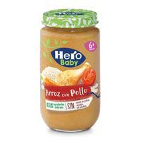 Hero Baby Pollo-arroz 235g