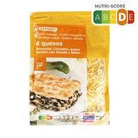 Eroski Queso rallado 4 quesos 150g