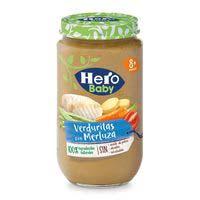 Hero Baby Merluza con verduras 235g