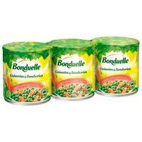 Bonduelle Guisantes y zanahorias 3x130g