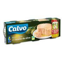 Calvo Atún claro aceite oliva 3x73g