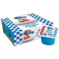 LA FAGEDA Iogurt Grec amb maduixes 4x125g