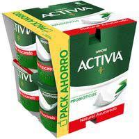 Activia natural azucarado DANONE, pack 8x120 g