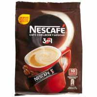 Nescafé 3en1 Cafè soluble amb llet i sucre natural 180g