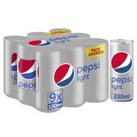 Pepsi Cola light sense calories llauna 9x33cl