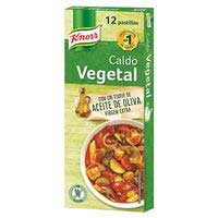 Knorr Caldo vegetal 12 pastillas 120g