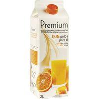Premium Zumo de naranja con pulpa 2l
