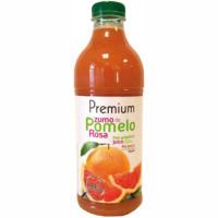 Zumo exprimido de pomelo rosa ZÜ, botella 75 cl