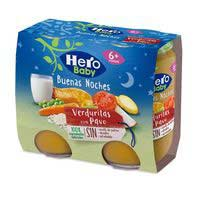 Hero Baby cena gall dindi amb verduretes Buenas Noches 2x200g