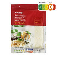 Eroski Queso rallado en polvo especial pasta 100g