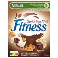 Cereal de xocolata negra NESTLÉ Fitness, caixa 375 g