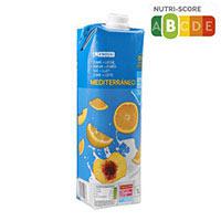 EROSKI Suc amb llet mediterrani 1l