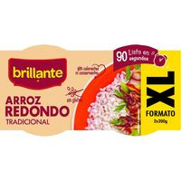 Brillante Vasitos arroz redondo XL 2x200g