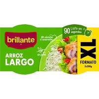 Brillante Vasitos arroz largo XL 400g