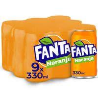 Fanta Taronja llauna 9x33cl