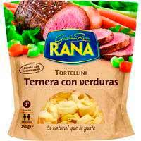 Rana Tortellini farcit de vedella amb verdures 250g