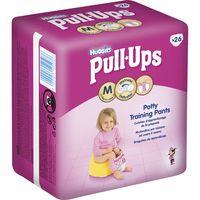 Pull-Ups Braguitas de apredizaje niña T-5 Huggies 26u