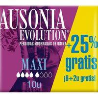 Ausonia Compresa Discrett maxi 12u