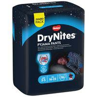 Dry Nites Calzoncillos absorbentes niño 3-5 años 16u