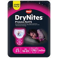 Dry Nites Braguitas absorbentes niña 3-5 años 16u