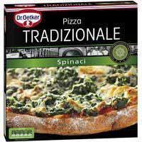 Pizza tradicionale spinacci Dr. Oetker 365 g.