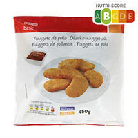 Eroski Basic Nuggets de pollo 450g