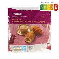 Eroski Croissant farcit xocolata 315g