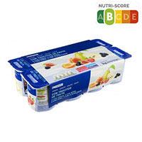 Eroski Yogur con frutas 8x125g