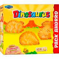 Artiach Galletas Dinosaurus 10 packs 411g