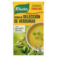 Crema selecta de verdures KNORR, bric 500 ml
