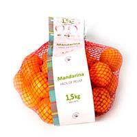 Mandarina, malla 1,5 kg