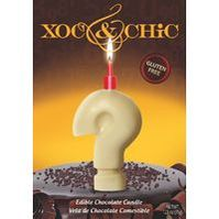 Xoc & Chic Velas chocolate interrogante