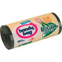 Bossa d'escombraries reciclades 50 l.HANDYBAG, paquet 10 un..