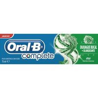 Oral B Dentífrico complete enjuague+blanqueante 75ml