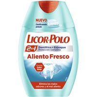 Licor Del Polo Crema+elixir aliento fresco 75ml
