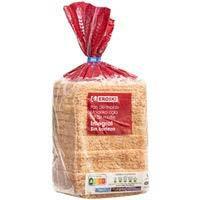 Pa de motlle integral sense crosta EROSKI, paquet 450 g
