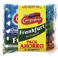 Campofrío Salchichas de frankfurt pack 4 560g