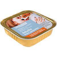 Eroski Comida perro razas pequeñas paté pollo pavo verduras150g