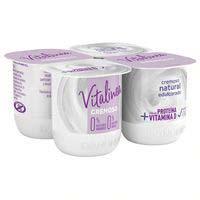 Vitalinea Iogurt natural cremós ensucrat desnatat DANONE, 4x120g