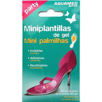Aquamed Mini plantillas de gel party 2u