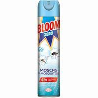 Insecticida moscas mosquitos zero BLOOM, spray 400 ml