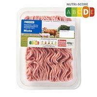 Eroski Preparado burguer meat mixta 400g