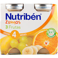 Nutriben Suc fruites 2x260ml