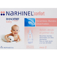 Narhinel Recambio aspirador nasal confort 10u